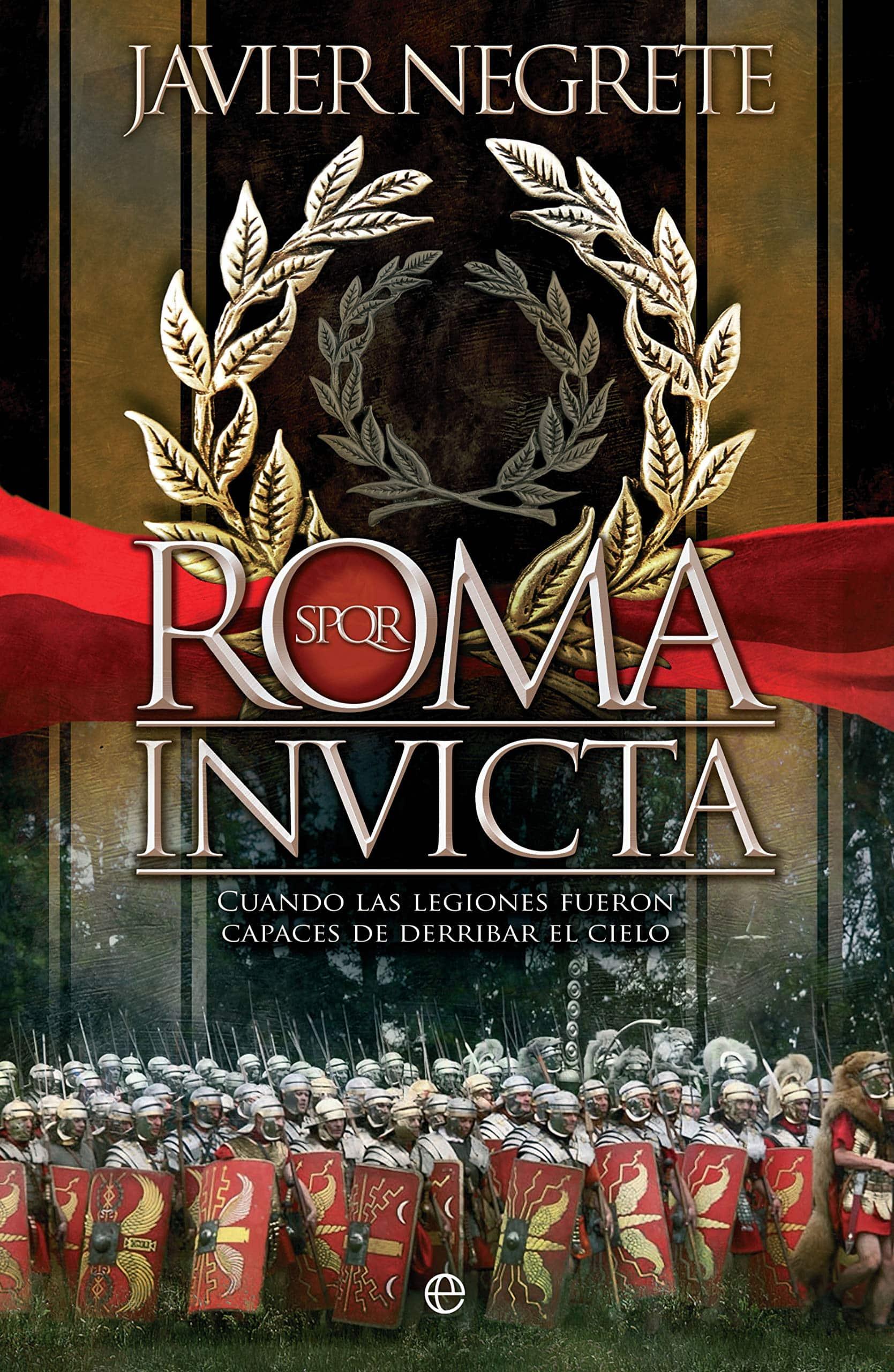 Portada del libro de javier negrete roma victoriosa